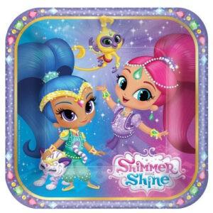 Shimmer and Shine Piattiini torta festa a tema