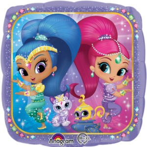 Shimmer and Shine Palloncino in mylar