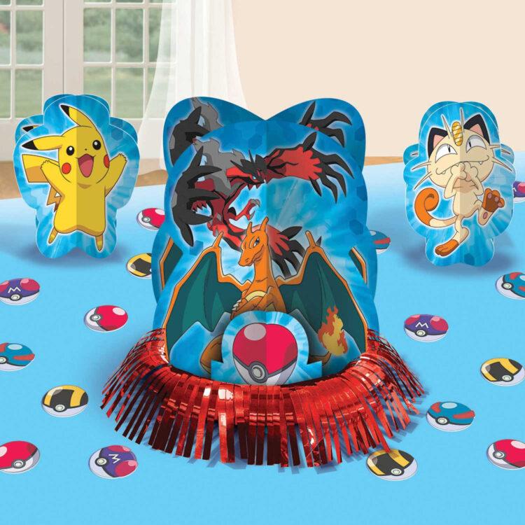 Pokèmon kit addobbo tavola festa a tema