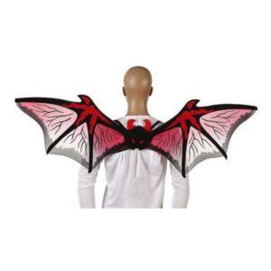 Coppia di ali rosse Halloween