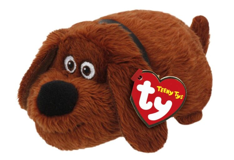 Peluche Teeny Ty Duke Pets Vita da Animali