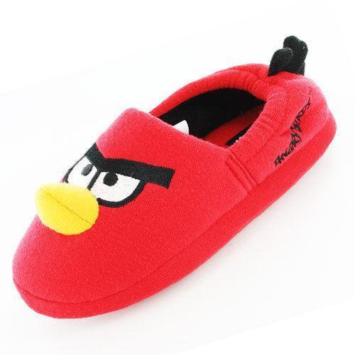 Pantofole in peluche Red Angry Birds 3D