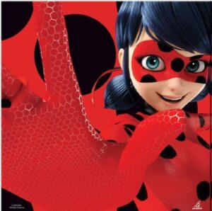 Miraculous Ladybug - Confezione 20 tovaglioli festa