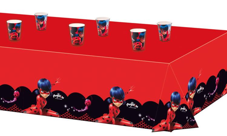 Miraculous Ladybug - Tovaglia festa a tema