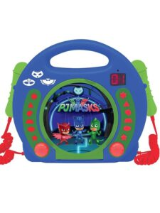 PJ Masks Stereo CD con 2 Microfoni