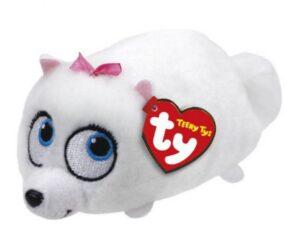 Peluche Teeny Ty Gidget Pets- Vita da Animali 9 cm