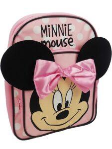 Minnie Zainetto con orecchie e fiocco 3D