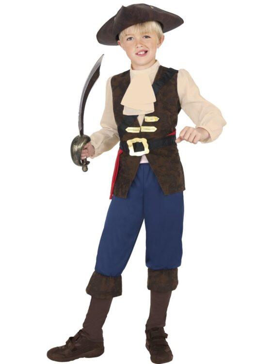 Costume bimbo pirata 10-12 anni