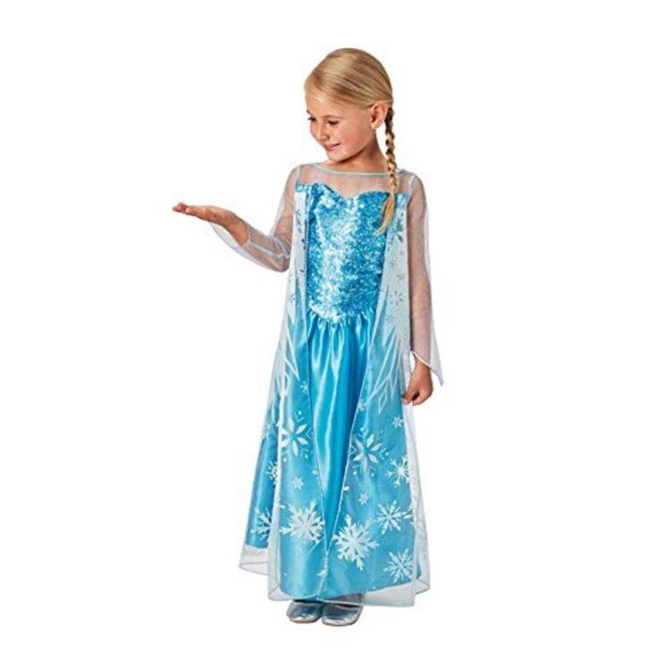 Costume Disney Frozen Elsa 3-4 anni