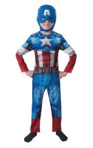 Costume Capitan America 3-4 anni Classic