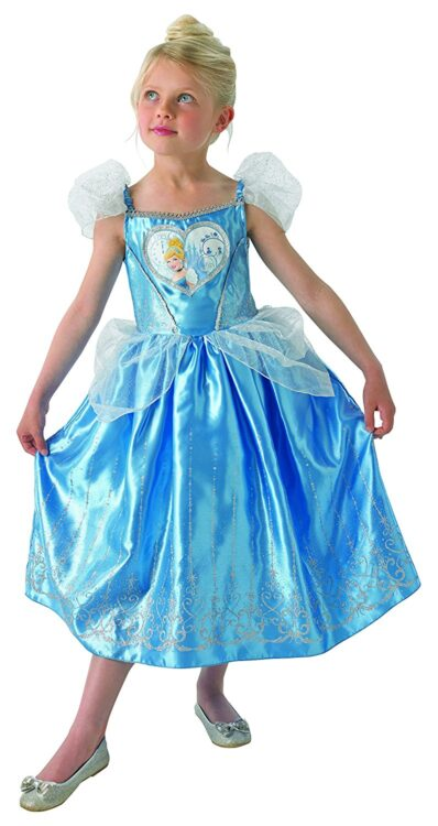 Costume Cenerentola Loveheart 5-6 anni