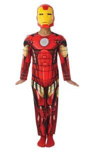 Costume Iron Man con Muscoli 3-4 anni