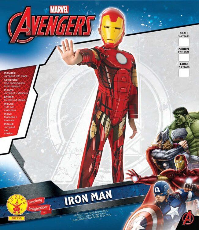 Costume bimbo Iron Man Classic 3-4 anni