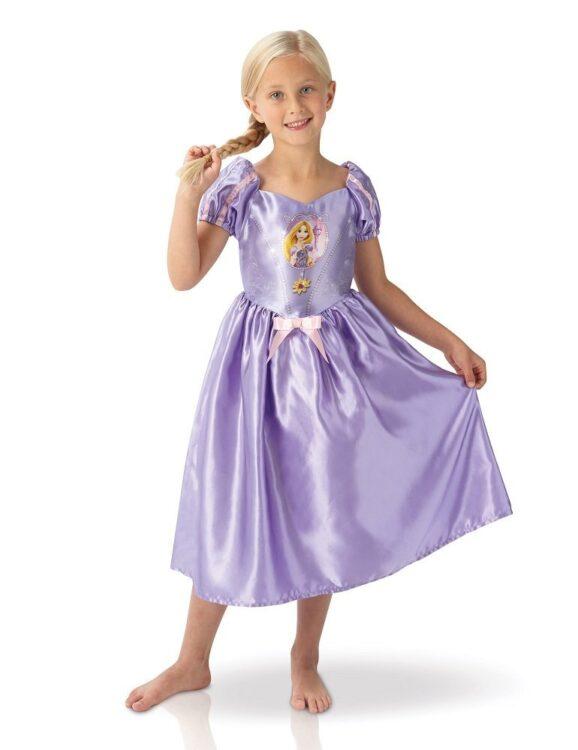 Costume Rapunzel in scatola 7-8 anni