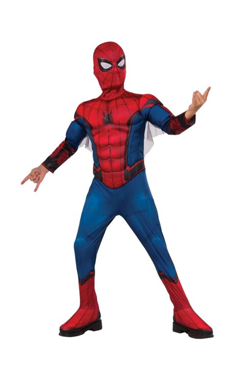 Costume Spiderman Deluxe 3-4 anni