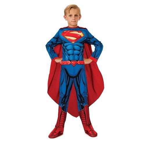 Costume Superman 8-10 anni Classic