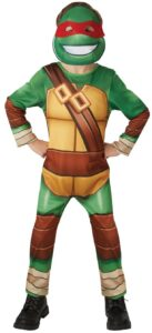 Costume Tartarughe Ninja 3-4 anni con maschera
