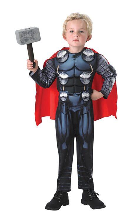 Costume Thor con Martello Deluxe 5-6 anni
