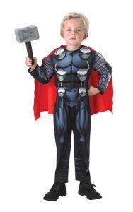 Costume Thor con Martello Deluxe 3-4 anni