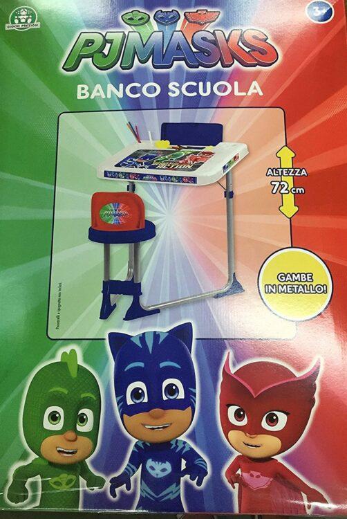 Pj Masks Banco Scuola Super Pigiamini