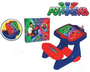 Pj Masks Banco Scuola in plastica Super Pigiamini