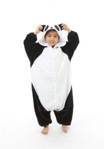 Pigiamone Kigurumi bimbo Panda - 3-5 anni
