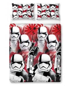 Parure copripiumino doppio/piazza e mezza Star Wars Stormtroopers