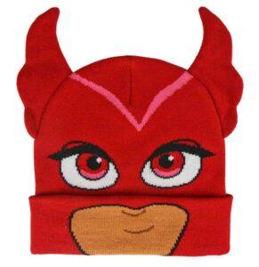 Pj Masks Berretto in maglia con orecchie Gufetta