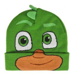 Pj Masks Berretto in maglia con cresta Geco