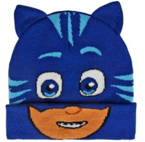 PJ Masks Berretto in maglia con orecchie Gattoboy