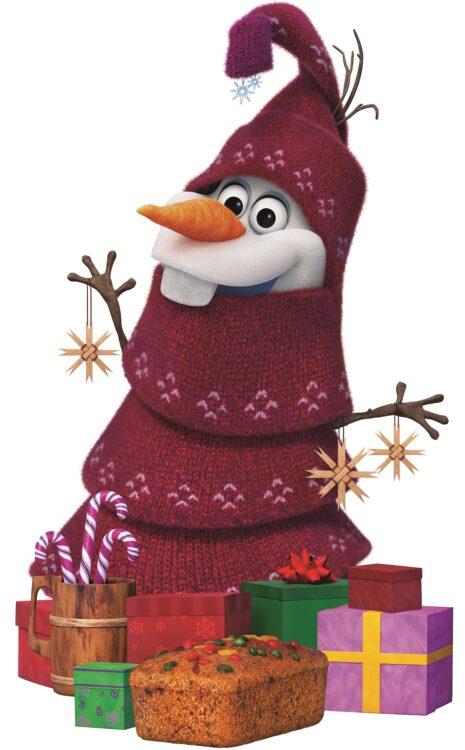 Sagoma Olaf Natalizio Disney Frozen Adventures