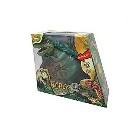 Tirannosauro Rex con luci e suoni 30 cm