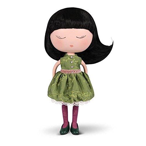 Bambola Anekke con vestito verde