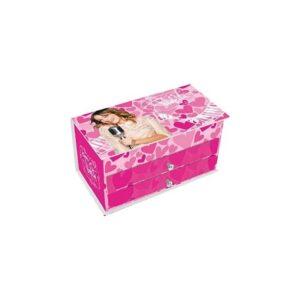 Portagioie con cassetti Violetta