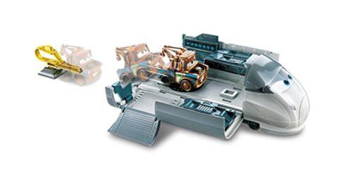 Disney Cars Spy Train e Cricchetto lanciatore