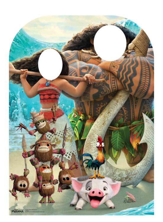 Sagoma cartonata per foto Oceania 131 cm