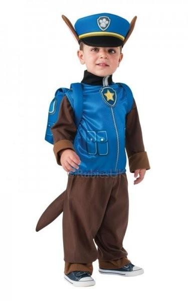 Paw Patrol costume di carnevale Chase