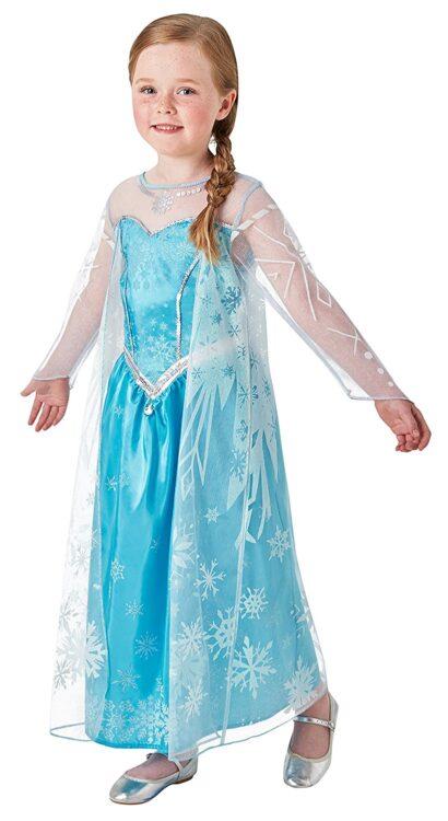 Costume Disney Frozen Elsa Deluxe 7-8 anni