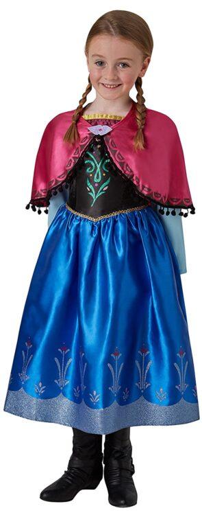 Costume bambina Disney Frozen Anna DeLuxe 7-8 anni