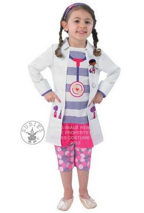 Costume bimba Dottoressa Peluche