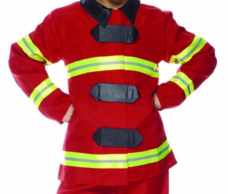 Costume bambino Vigile del Fuoco 7-8 anni
