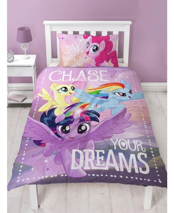 Parure copripiumino singolo My Little Pony Insegui i tuoi sogni