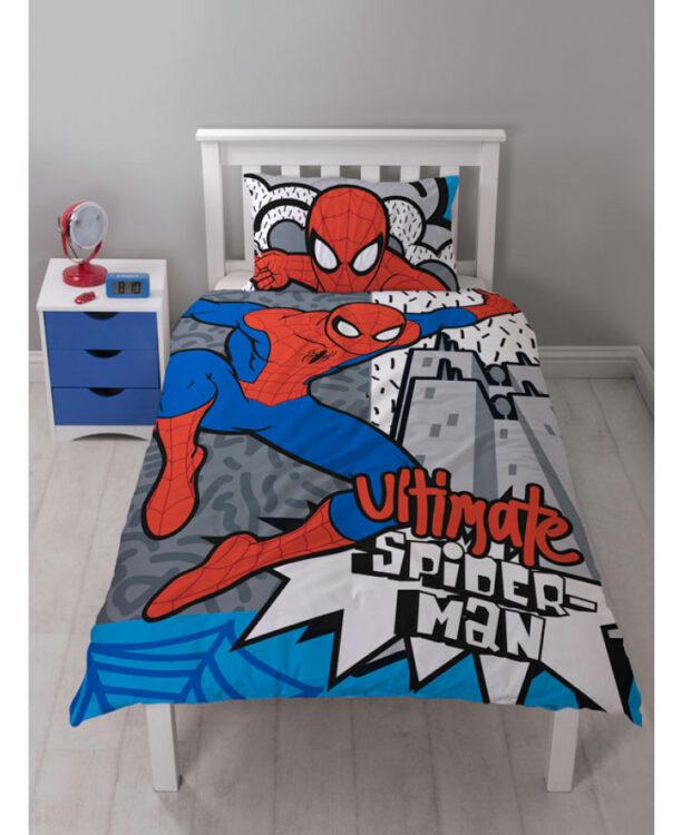 Parure copripiumino singolo Spiderman Hang