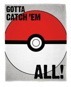 Plaid pile Pokemon Pokeball