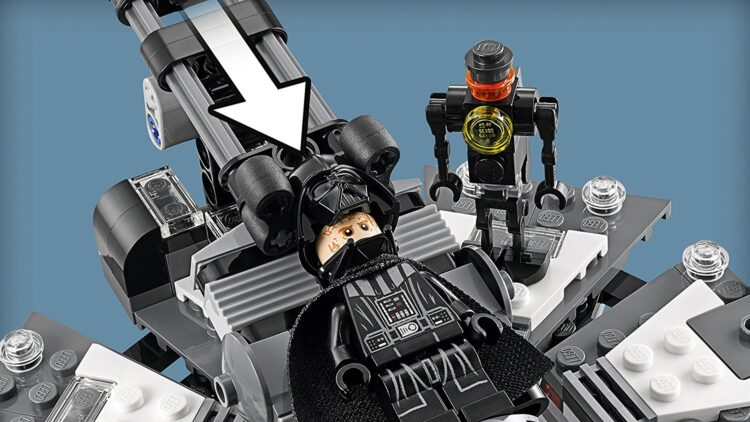 LEGO 75183 - Star Wars, La Trasformazione di Darth Vader