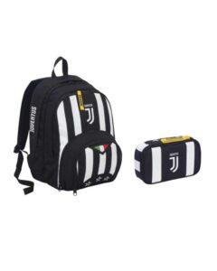 Zaino scuola e astuccio Juventus FC