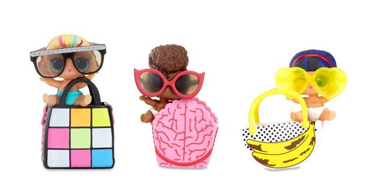LOL Surprise LIL Sister Serie 4 Sfera con Mini Doll a Sorpresa