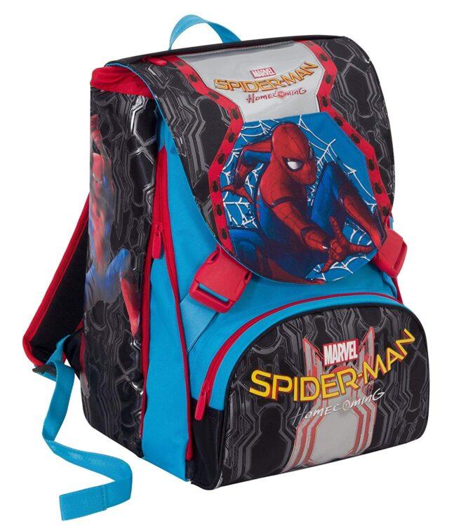 Zaino scuola ESTENSIBILE MARVEL - SPIDERMAN HOMECOMING