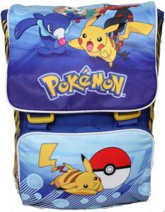 Pokemon: Zaino estensibile elementari con gadget
