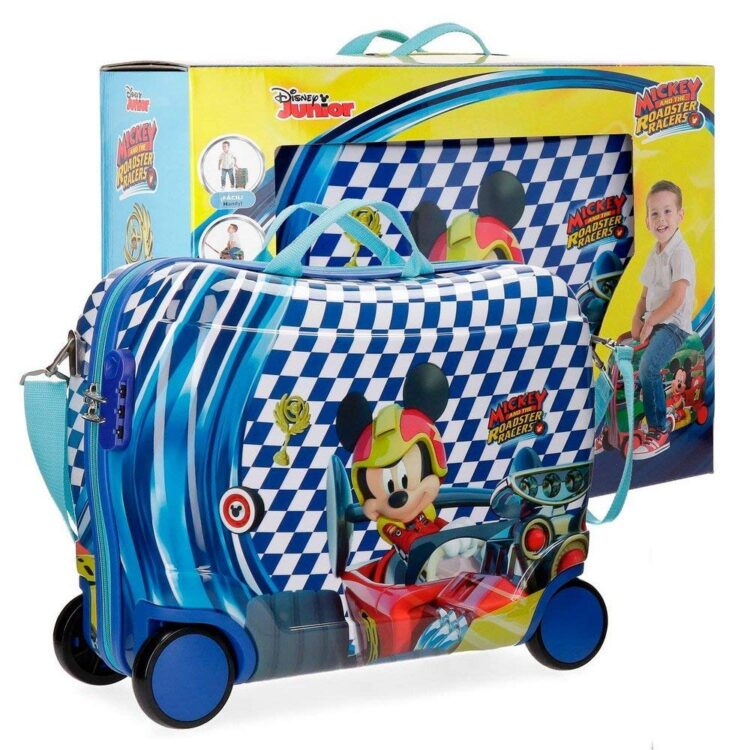 Trolley cavalcabile Topolino viaggio e tempo libero